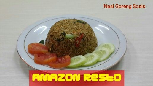 Nasi Goreng Sosis #amazonresto#chinesefood