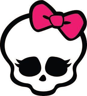 FREE KLDezign les SVG monster high skull