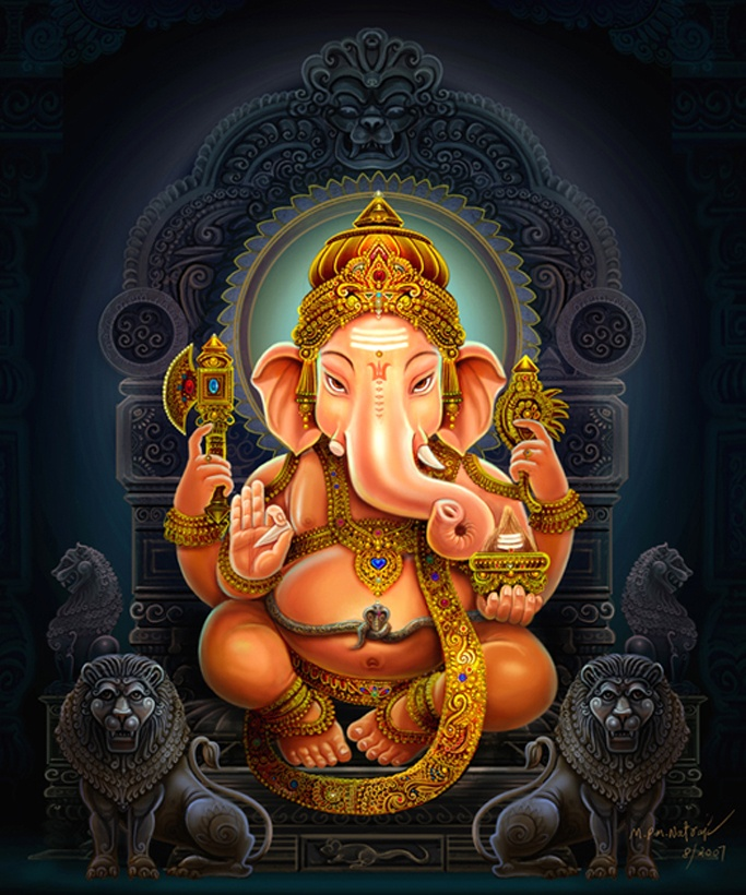 GANESH GAYATRI Tatpurushaaya Vidmahe Vakratundaaya Dheemahe Tanno Danthihi Prachodayaat Meaning: We meditate on that super power, we invoke the single tusked boon giver, Ganesh.