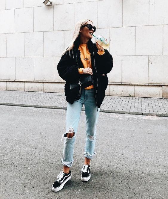 16 idées de Vans look | mode, tenue, vestimentaire