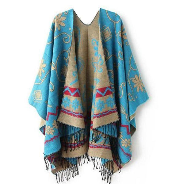 Cashmere Silk Scarf - SHATTERED MIRROR SILKS by VIDA VIDA Md0olTcbU