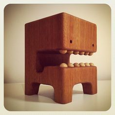 meet Frederic! :] a MEGA WHAAGHBLOCK! #wood #toy #swissmade | Flickr: Intercambio de fotos