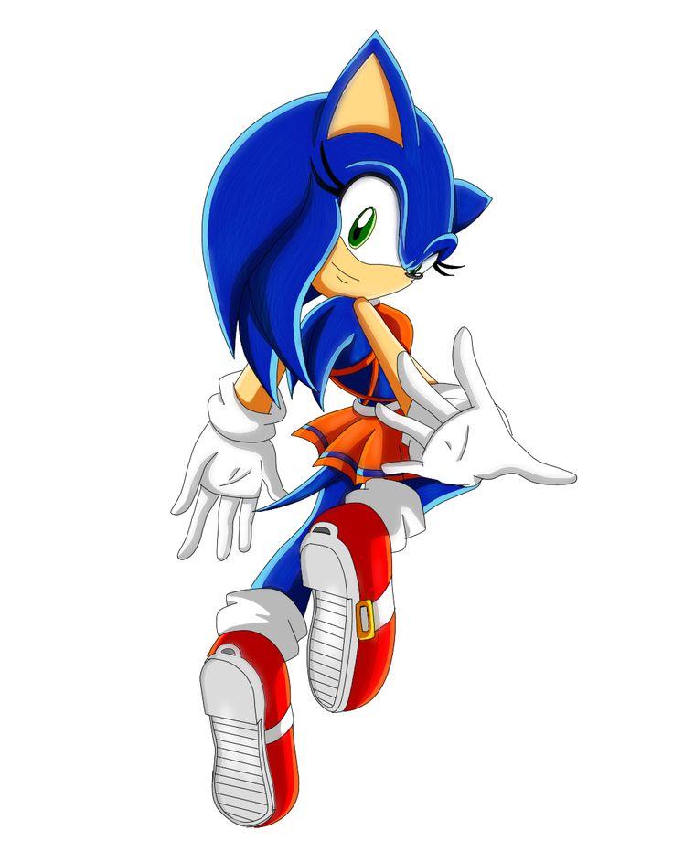 Sonic the Hedgehog Gender Bender by Sorikku za Hejjihoggu.  Soric the Hedgehog [SXCVI]
