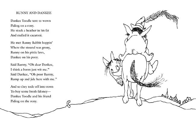 The Voice By Shel Silverstein: Shel Silverstein - Runny And Danke (650×411)