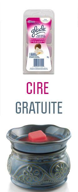 Cire pour bruleur Glad gratuite.  http://rienquedugratuit.ca/coupons/cire-pour-bruleur-gratuite/