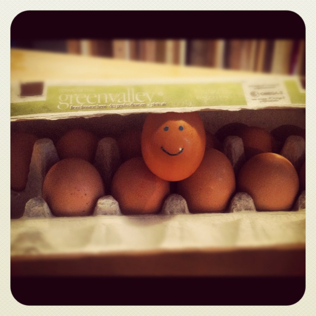 Happy eggs @ Academy of Lions General Store & Espresso bar <3