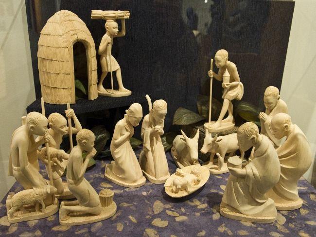 crèche (nativity) from Rwanda