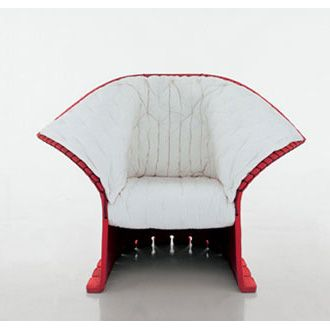 gaetano pesce feltri armchair high armchair and low armchair entirely made of thick wool felt