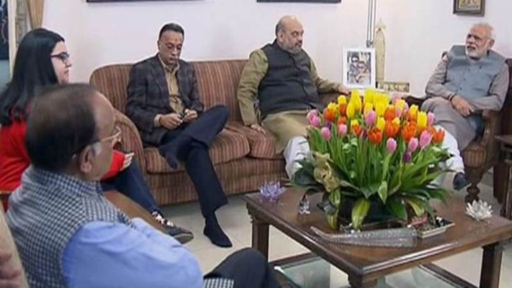 Atalji's Birthday, Arrived at his Home PM Narendra Modi and Other BJP Leaders