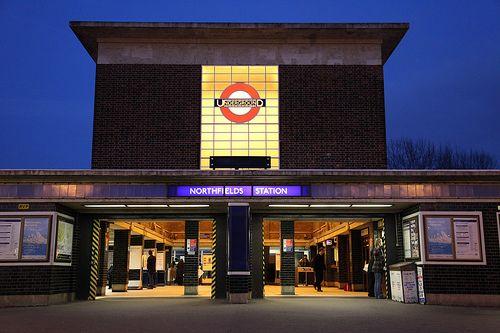 One of my local tube station (Northfields Station)