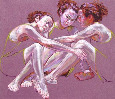 "Saatchi Art Artist Cristina Troufa; Painting, """"Mantle"" SOLD"" #art"
