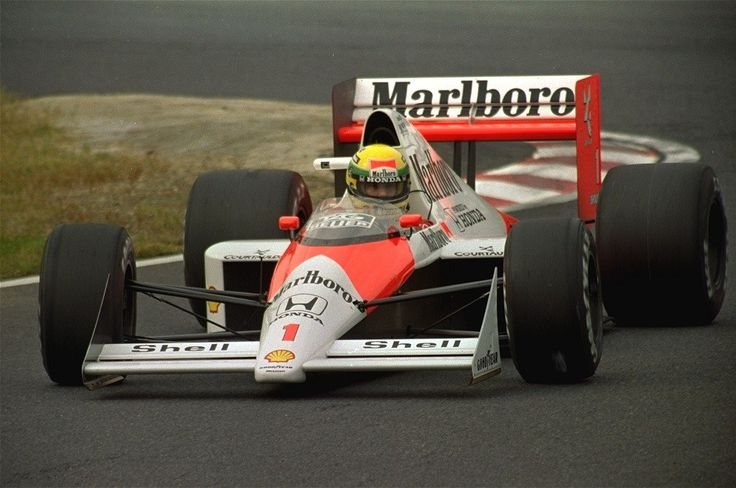 Ayrton Senna McLaren - Honda Suzuka 1989