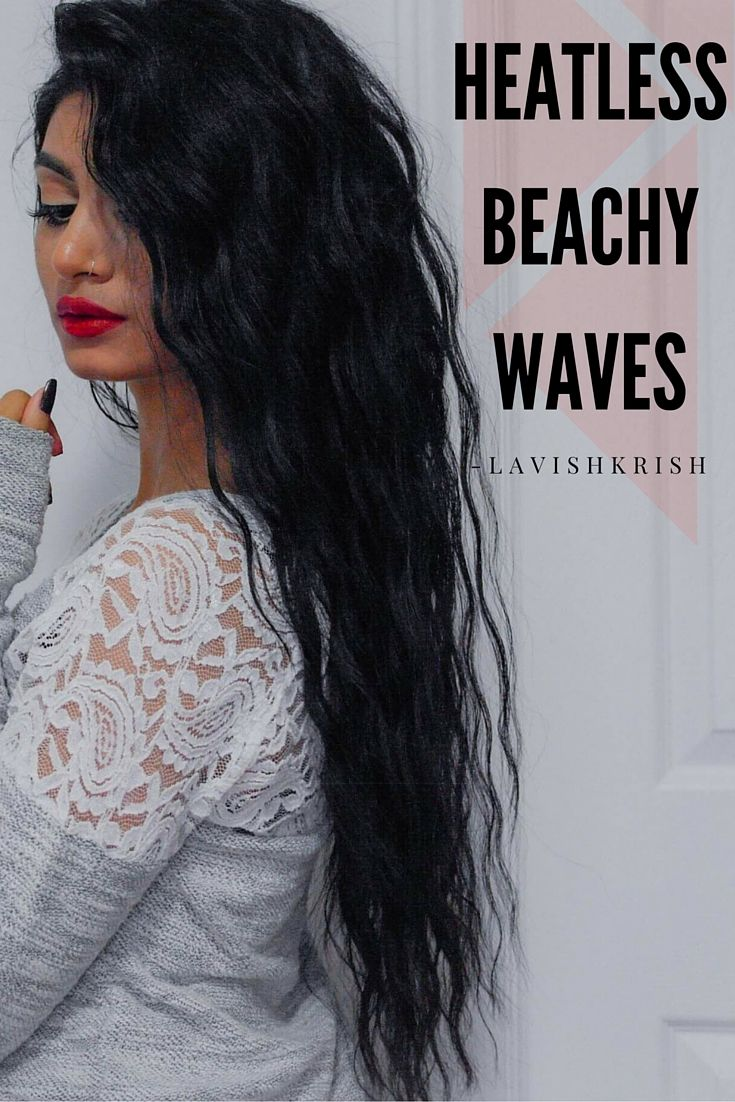 No need to dry your hair out with sea salt spray or no crazy tools required.. Definitely a Summer 2016 STAPLE!