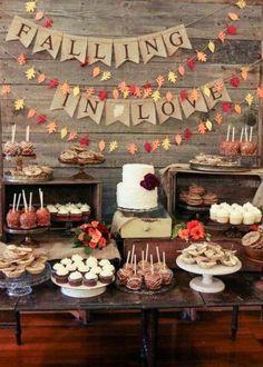 How to plan a wedding on a budget! SOSN Weddings all Dessert Reception