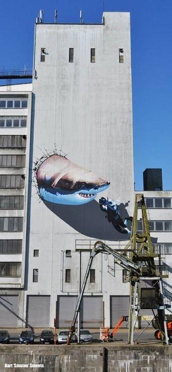 Brilliant piece by Smates in Belgium