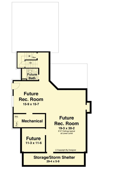 Turn of the Century Styling - 92104VS | 2nd Floor Master Suite, Craftsman, Den-Office-Library-Study, Jack