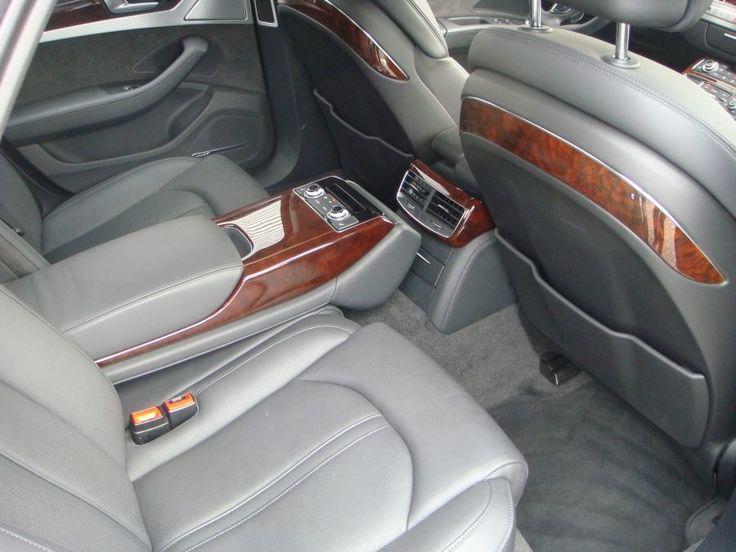 Audi A8 4.0 TFSI - wnętrze, ale za to jakie!