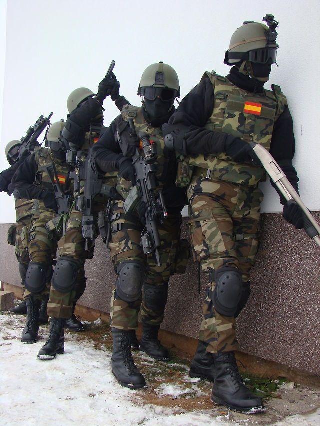 Spanish Navy Marines