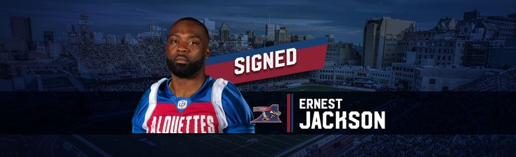 Feb.15 2017 - The Montreal Alouettes announced on Wednesday that the club has reached an agreement with All-Star international receiver Ernest Jackson.