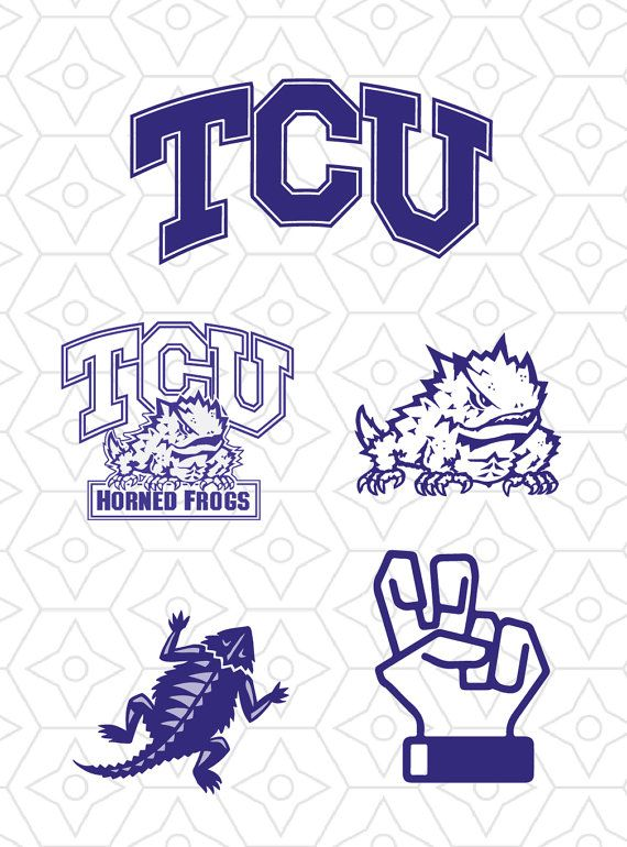 Tcu Horned Frogs Sports Team Logo Collection By