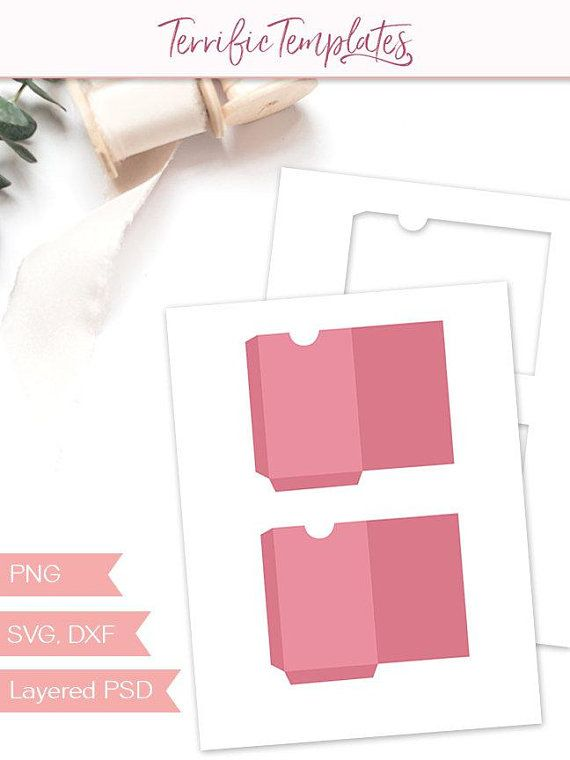 Gift Card Envelope Template Party Printable Craft Template Etsy Gift Card Envelope Template Gift Card Design Printable Craft Templates