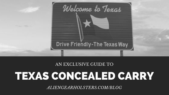 Texas Concealed Carry .   Continue reading at: http://aliengearholsters.com/blog/texas-concealed-carry/