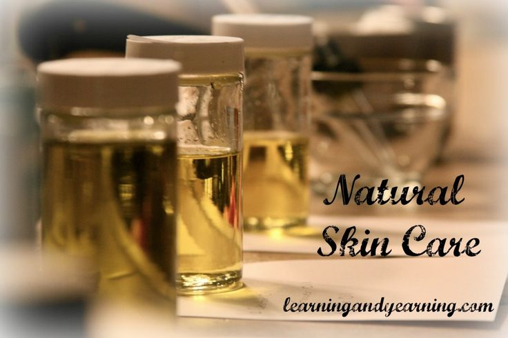 Natural Skin Care plus some great recipes and how-to's