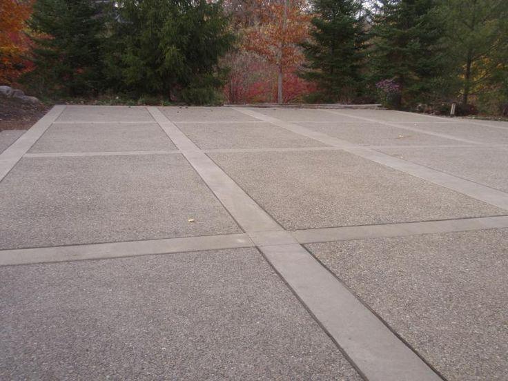 Exposed Aggregate Concrete Driveway Cincinnati Mason Ohio