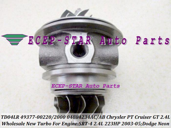 Turbo Cartridge CHRA TD04LR 49377-00220 49377-00200 04884234AC AB For Chrysler PT Cruiser GT For Dodge Neon SRT-4 03-05 EDV 2.4L #Affiliate