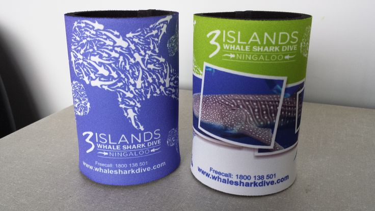 Stubby Holders for 3 Islands Whale Shark Dive Ningaloo