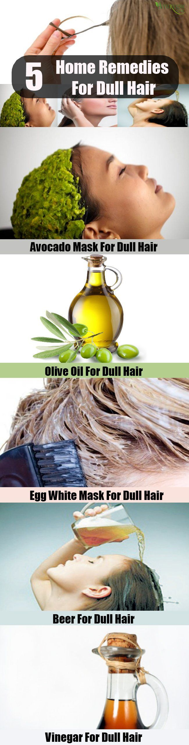 Top 5 Home Remedies For Dull Hair