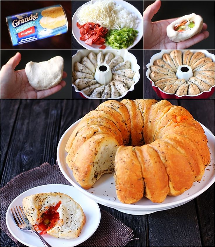 How to Make PIZZA Monkey Bread