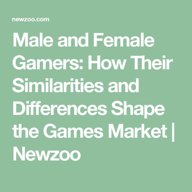 a debate on male and female gamers media essay The fact that some male gamers treat female gamers differently should be apparent to any who have enjoyed the medium to a moderate degree sexism is also propagated throughout the medium of video games for example, women have a significant presence as sexually arousing decoration in the.