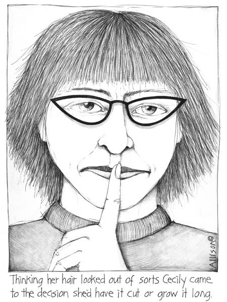 To see more Cecily cartoons visit the gallery at www.cecily.co.nz