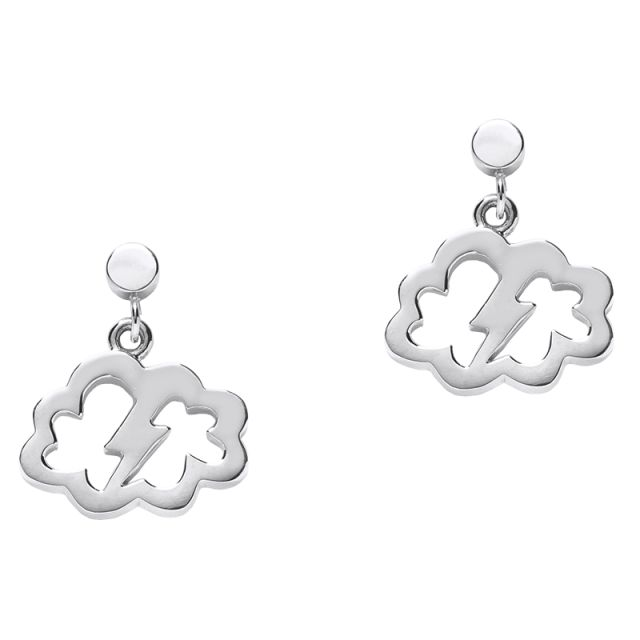 Karen Walker sterling silver lightning bolt earrings. RRP $79, now just $59 with free express post.
