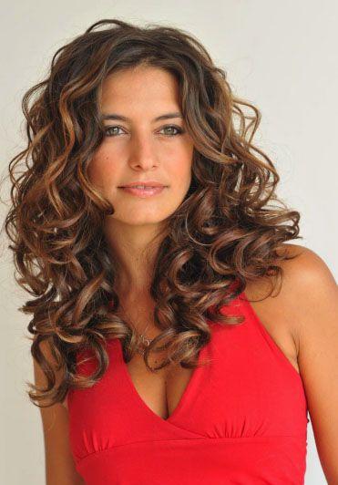 Très Les 25 meilleures idées de la catégorie Permanente cheveux long  EP72