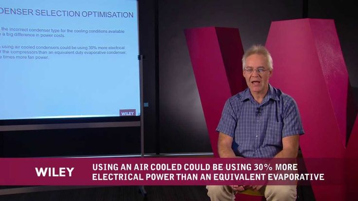 Wiley Knowledge Series-Taking the Chill out of Your Refrigeration Costs-Part 3   In Part 3, Martin discusses selecting the right condenser to optimise your plant's refrigeration system.