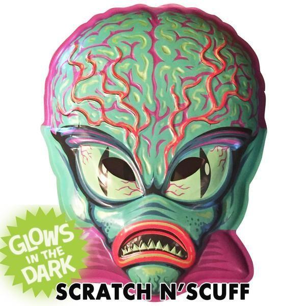 Scratch N' Scuff Alien Master Vac-tastic Plastic Mask*
