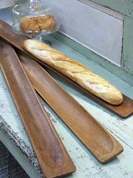 Vintage French Bread Boards - would look lovely in the centre of the dining table with dried lavender and tea lights.
