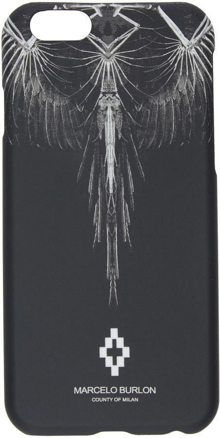 Marcelo Burlon County of Milan Black Antofalla iPhone 6 Case
