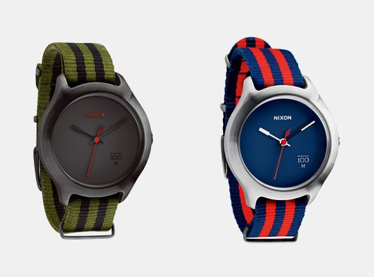 The Quad by Nixon. their take on the classic military watch. great watch for the summer.