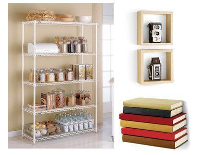 get organized container store shelving container store. Black Bedroom Furniture Sets. Home Design Ideas