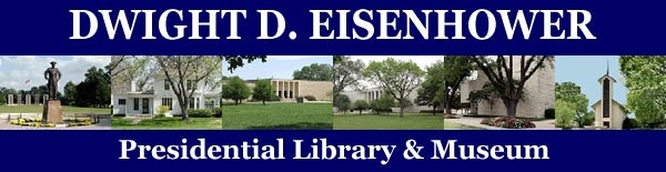 Eisenhower Presidential Library and Museum in Abilene, Kansas also includes a tour of his boyhood home. It is worth the trip.