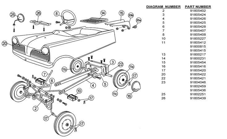 car exterior diagram car door parts