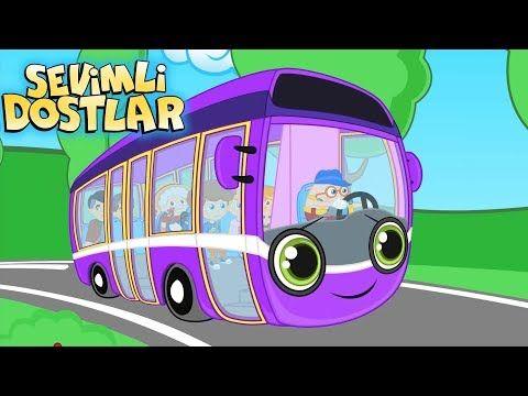 Otobüsün Tekerleği - Sevimli Dostlar çizgi film çocuk şarkıları 2017 - Adisebaba TV Bebek Şarkıları - YouTube