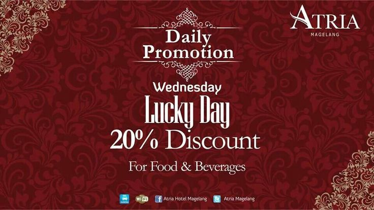 Daily F&B Promotion