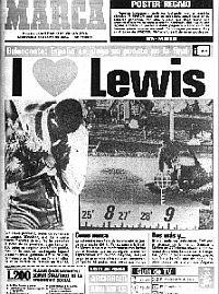 Carl Lewis, a dos pruebas de que se cumpla su sueño - MARCA.com