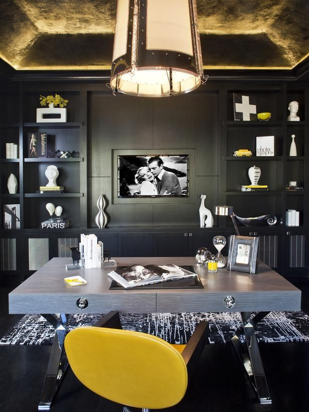 Eclectic Home-offices from sfa design on HGTV