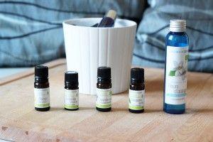 diy brume d'oreiller aux huiles essentielles