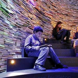 Children's books museum, The Hague (Netherlands)